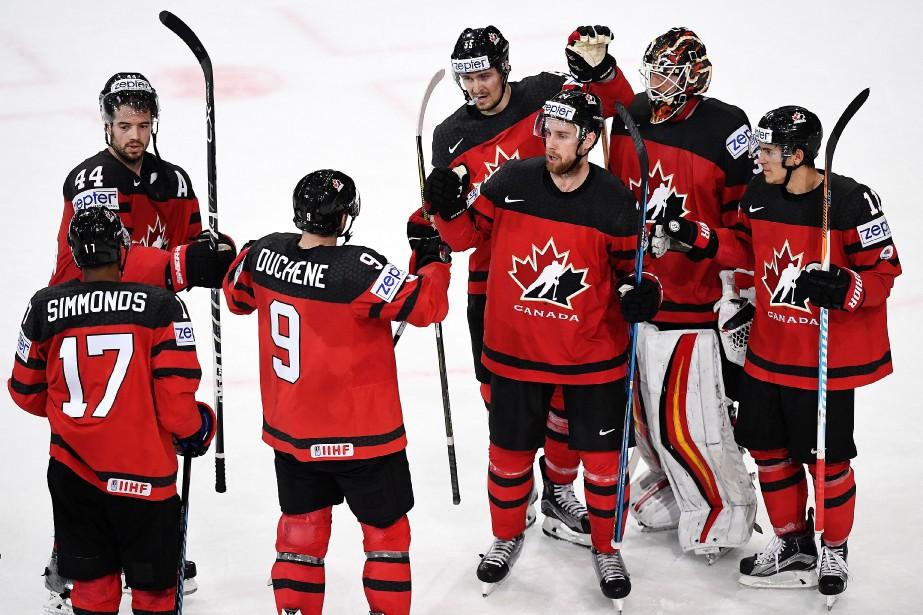 Les Canadiens, doubles champions en titre du tournoi... (PHOTO FRANCK FIFE, AFP)