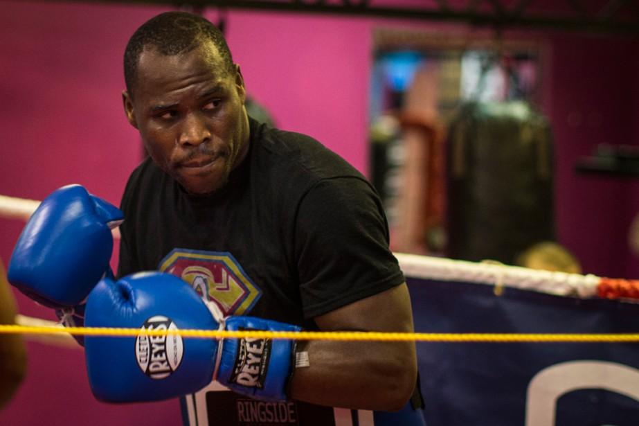 Adonis Stevensons'apprête à défendre sa couronne du WBC... (Photo Olivier PontBriand, La Presse)