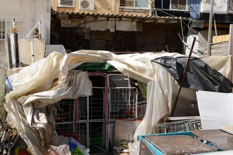 Les policiers israéliens ont découvert l'adolescent jeudi, confiné... (PHOTO TIRÉE DU SITE HAARETZ.COM)