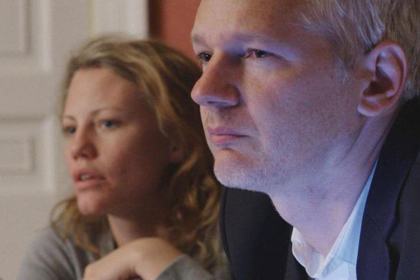 Julian Assange dans Risk, un film de Laura... (Photofournie par Métropole Films)