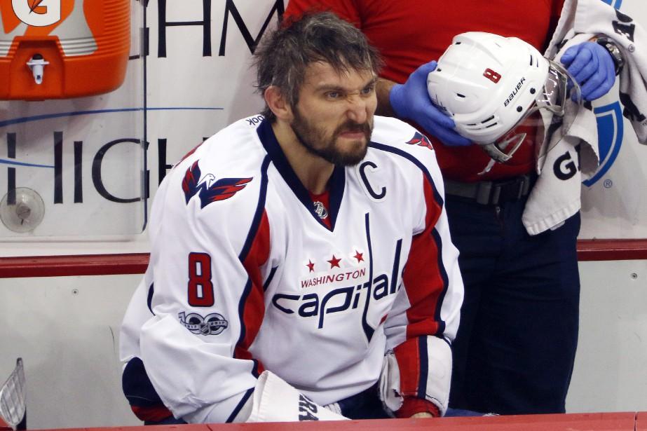 Alexander Ovechkin a dû avoir recours à des... (Photo Gene J. Puskar, Associated Press)