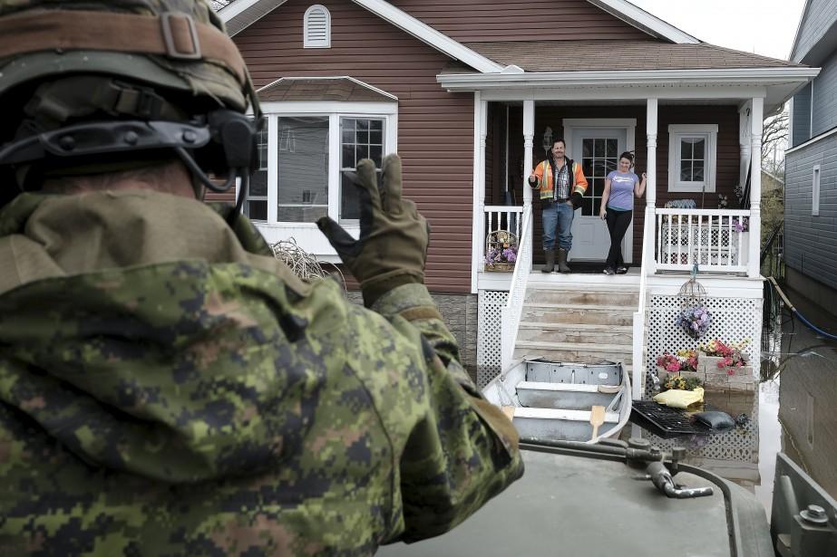 À Gatineau, ils ont notamment effectué maintes patrouilles pour veiller à la santé et à la sécurité de tous. | 12 mai 2017