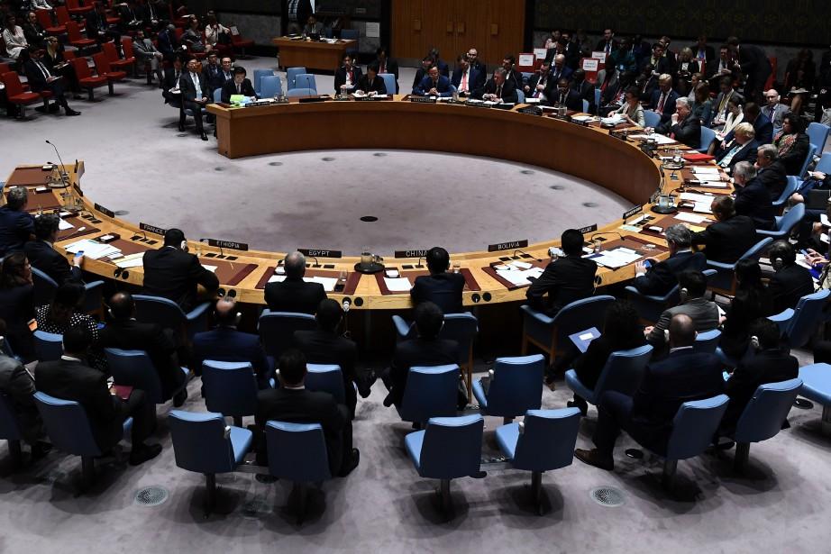 La mission nord-coréenne aux Nations unies a exhorté... (PHOTO Jewel SAMAD, Archives AFP)