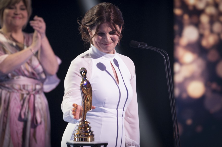 Guylaine Tremblay ( Unité 9 ), Rôle féminin - séries dramatiques annuelles, et Prix Artis — personnalité féminine   14 mai 2017