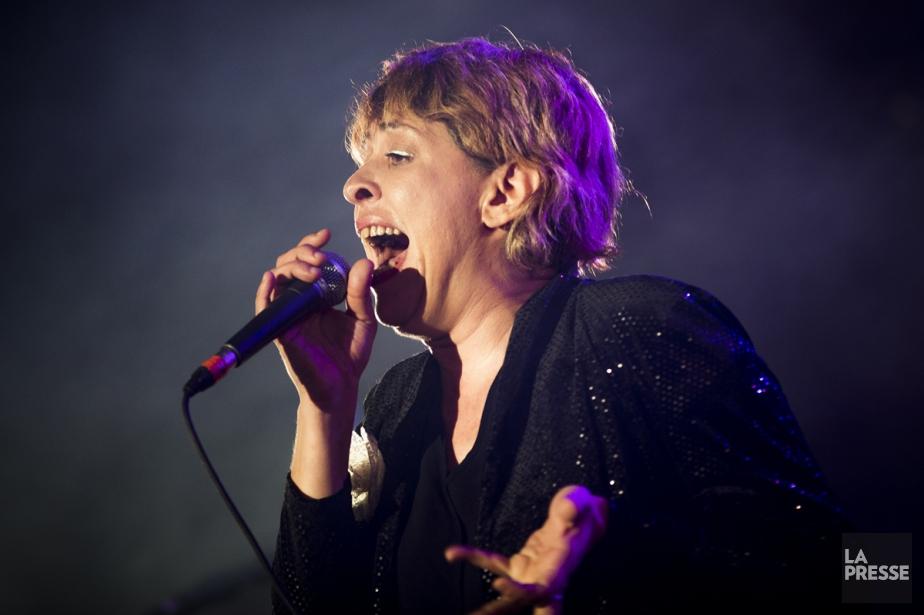 Betty Bonifassi chantera une version rock d'Oxygène, popularisée... (PHOTO OLIVIER PONTBRIAND, ARCHIVES LA PRESSE)