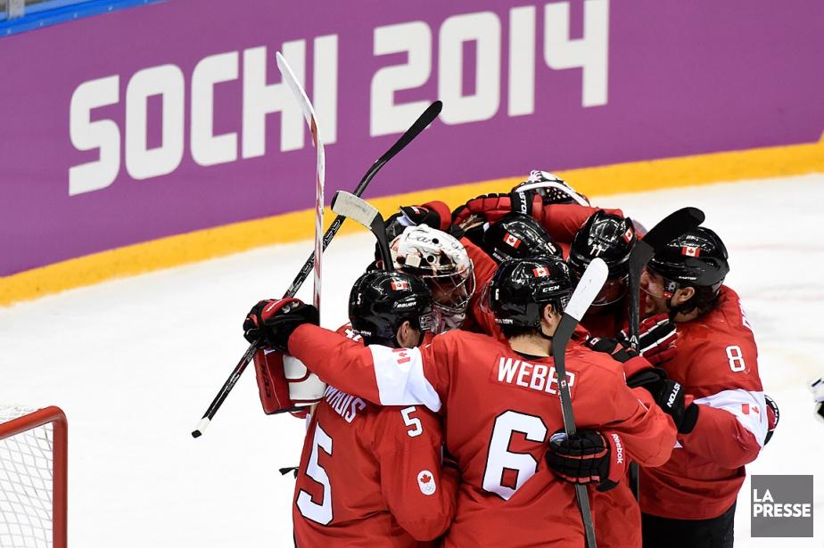 Le Canada a remporté la médaille d'or lors... (Bernard Brault, archives La Presse)