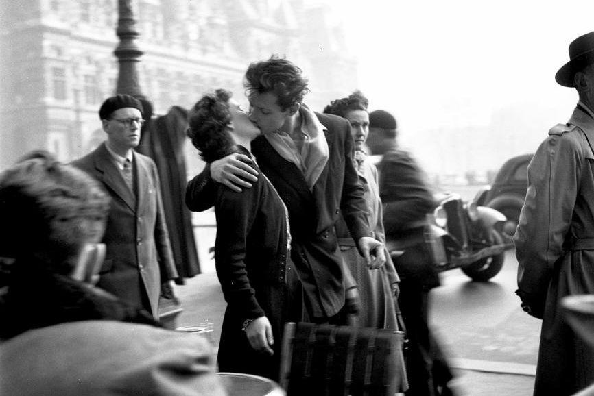 Le baiser de l'hôtel de ville, probablement la... (photo fournie par FunFilm)