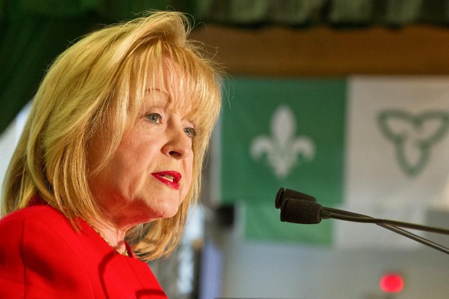 Madeleine Meilleur a annoncé son retrait de la... (Archives Le Droit, Martin Roy)