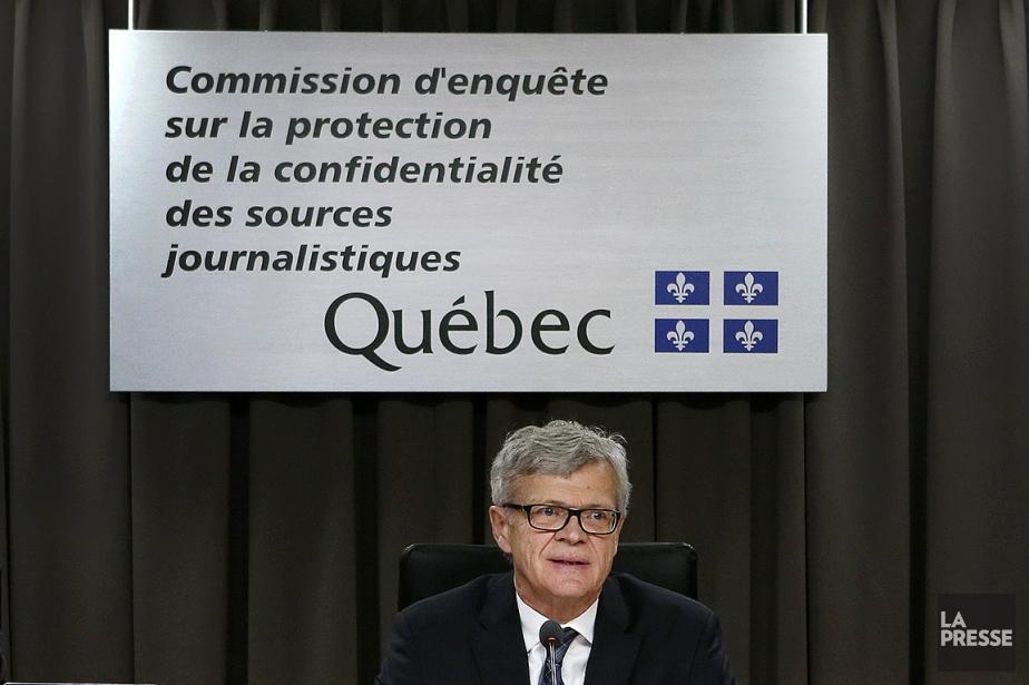 Le président de la Commission d'enquête sur les... (Robert Skinner, archives La Presse)