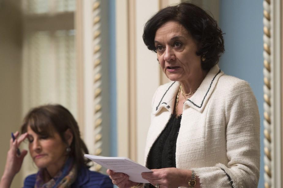 La ministre libérale Rita de Santis... (Archives La Presse canadienne)