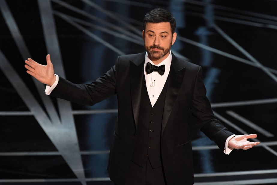 Jimmy Kimmel... (PHOTO ARCHIVES AFP)