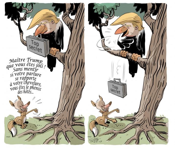 Caricature du 17 mai | 16 mai 2017