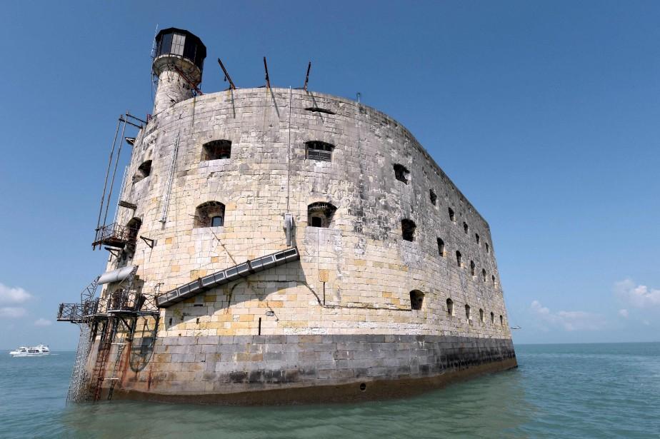 Le Fort Boyard, au large de La Rochelle, en France... | 2017-05-17 00:00:00.000