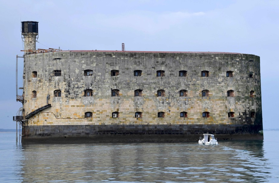 Le Fort Boyard, au large de La Rochelle, en France | 17 mai 2017