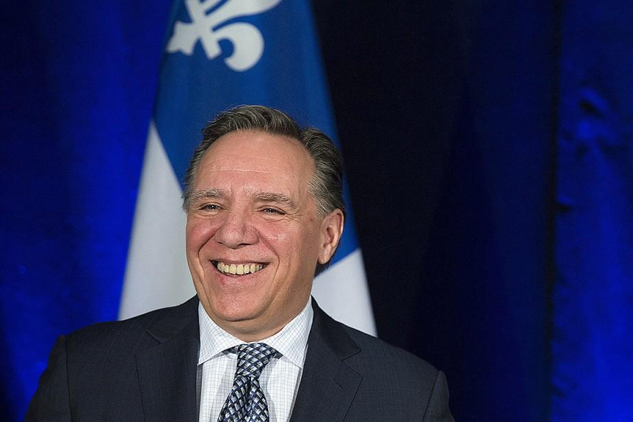 François Legault, chef de la Coalition avenir Québec.... (Graham Hughes, PC)