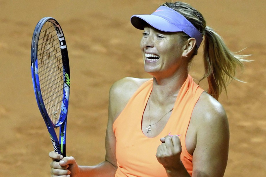 Maria Sharapova... (ARCHIVES AP)