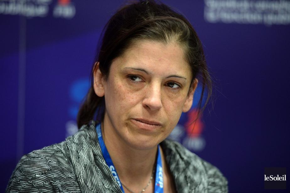 Caroline Lamarre s'est dite doublement victime de l'agression... (Photo Erick Labbe, Le Soleil)