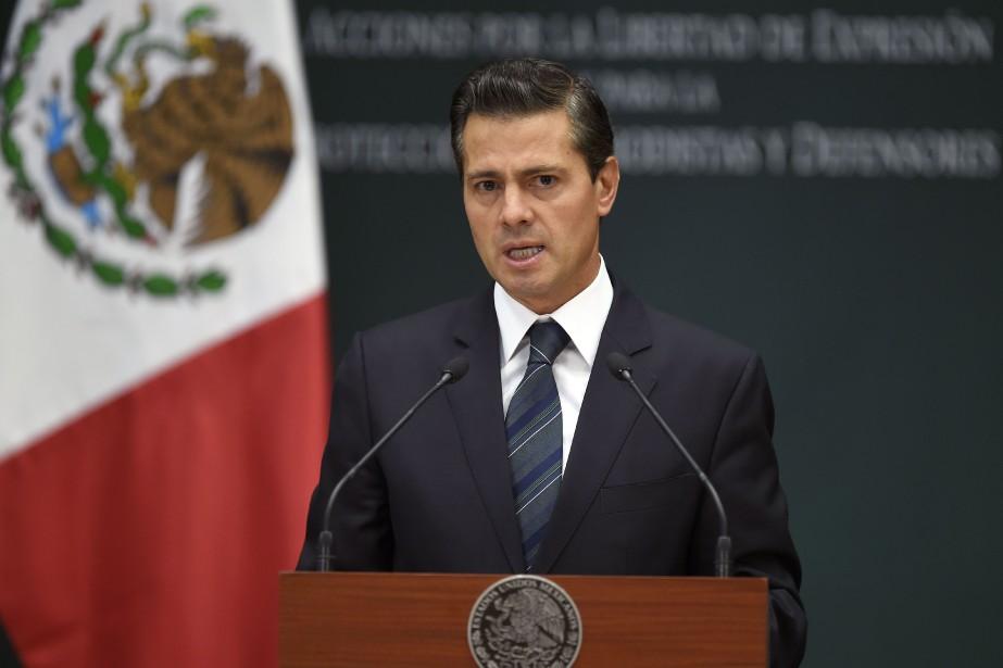 Enrique Peña Nieto... (PHOTO AFP)
