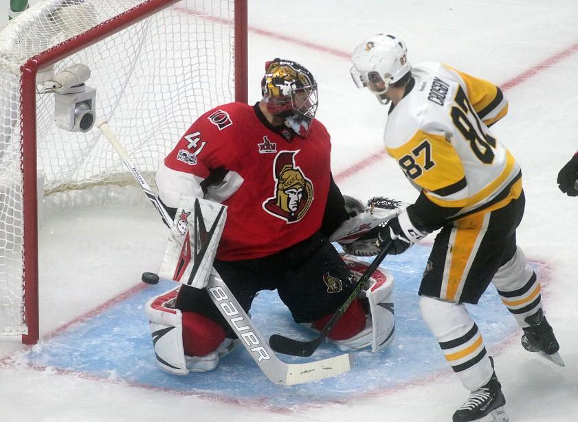 Sidney Crosby marque le seul but de Penguins. | 17 mai 2017