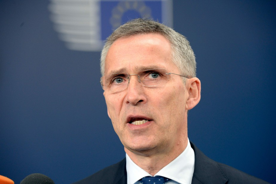 Jens Stoltenberg... (AFP, THIERRY CHARLIER)
