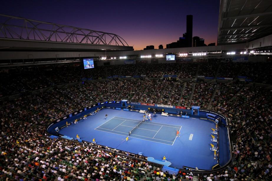Le Stade Rod Laver à Melbourne, site de... (Photo fournie par l'Omnium d'Australie)