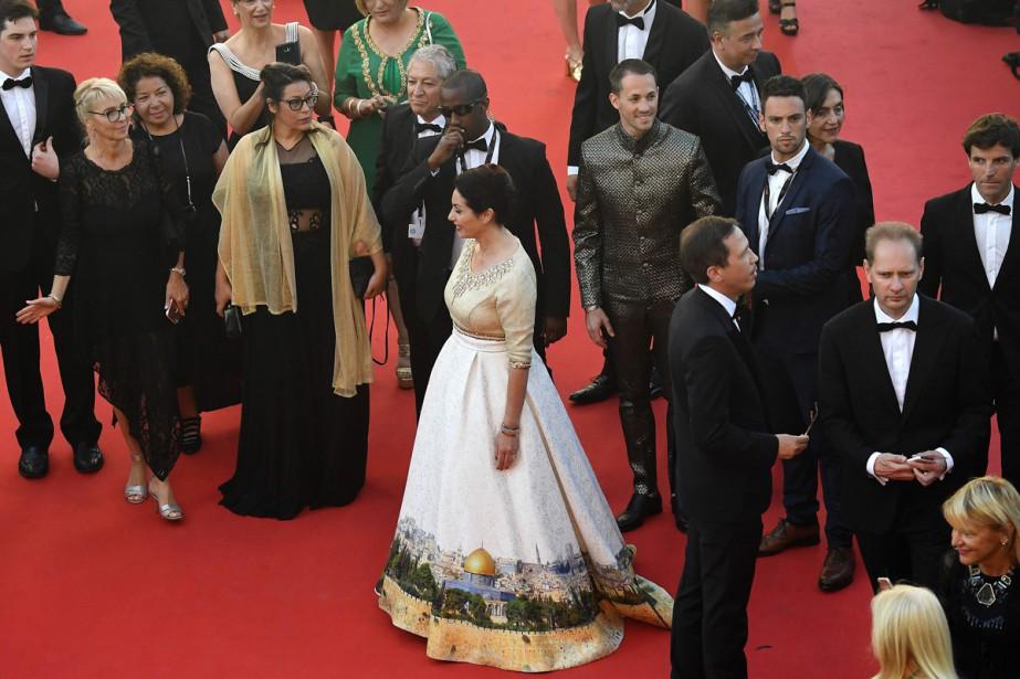 Miri Regev a fait sensation sur le tapis... (PHOTO ARCHIVES AFP)