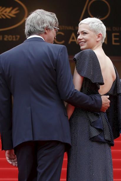 Le réalisateur Todd Haynes et l'actrice Michelle Williams à la projection de  Wonderstruck  | 18 mai 2017