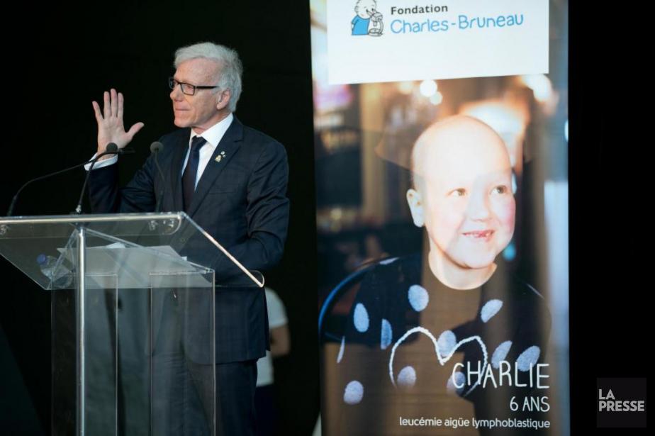 Pierre Bruneau a annoncé un don de22millionsde la... (PHOTO DAVID BOILY, LA PRESSE)