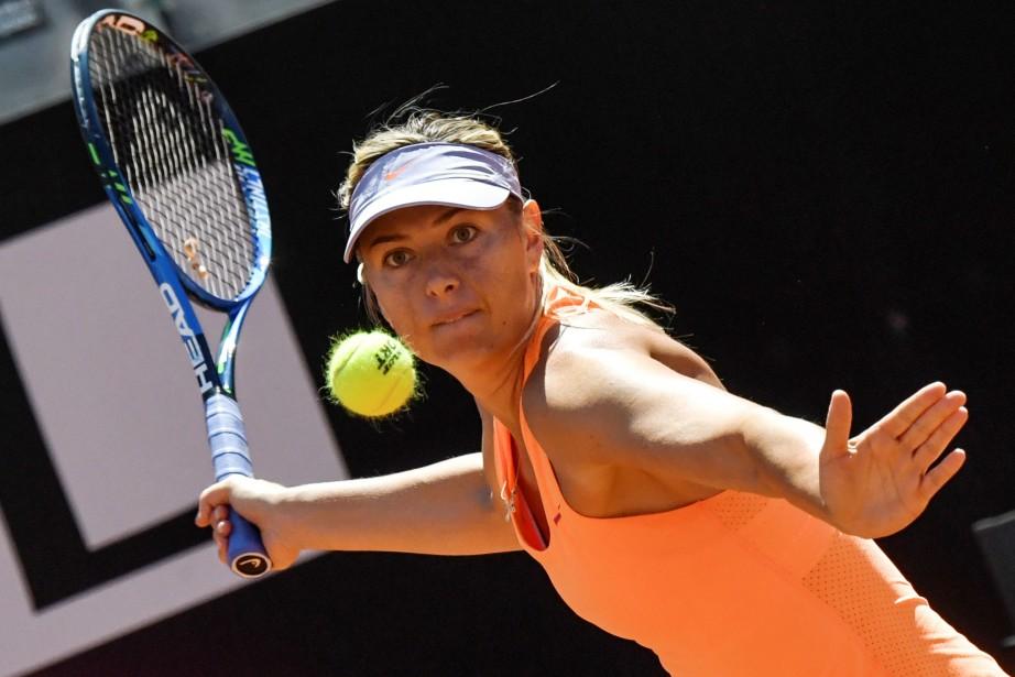 Depuis la fin de sa suspension, Maria Sharapova... (Photo Andreas Solaro, Agence France-Presse)