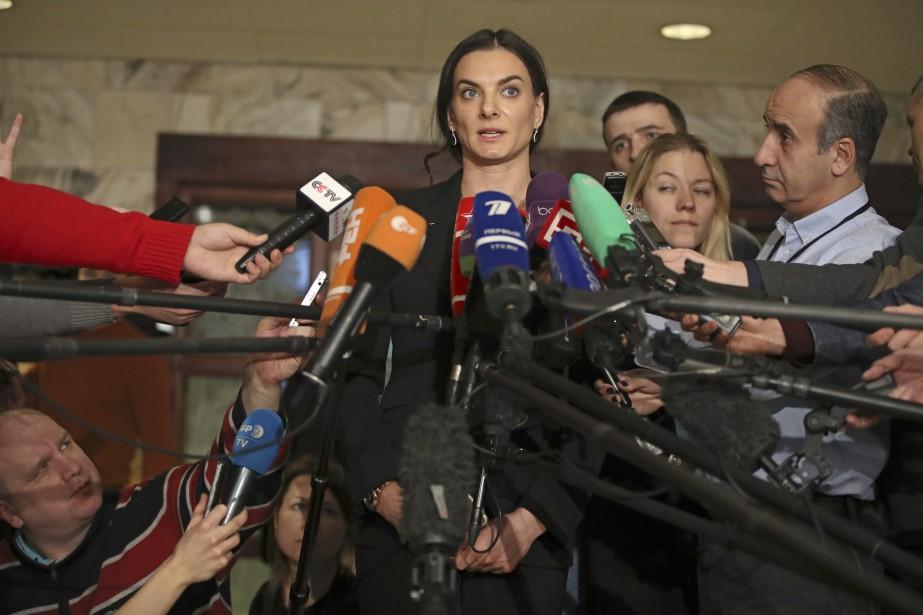 Yelena Isinbayeva... (Photo Pavel Golovkin, Archives Associated Press)