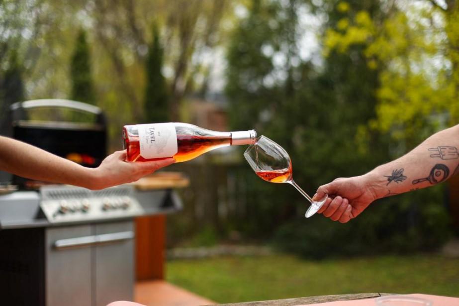 C'est l'été que le choix de rosé est... (Photo Hugo-Sébastien Aubert, La Presse)