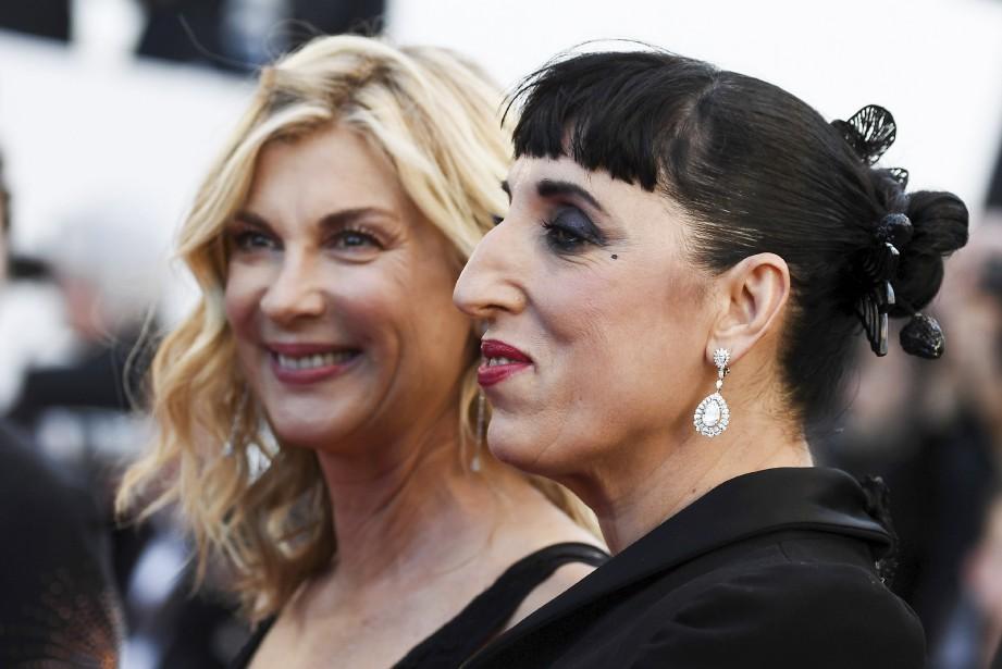 Les actrices Michele Laroque et Rossy de Palma | 19 mai 2017