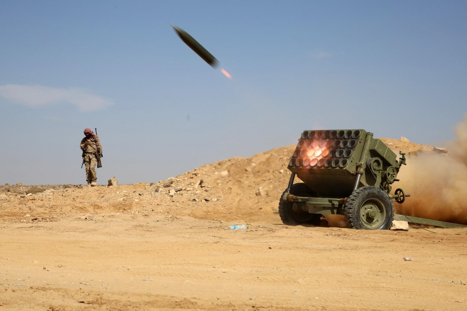 Il s'agit du missile tiré par les rebelles... (ARCHIVES AFP)