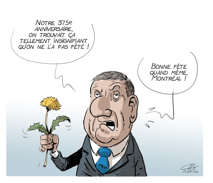 Caricature du 20 mai | 19 mai 2017