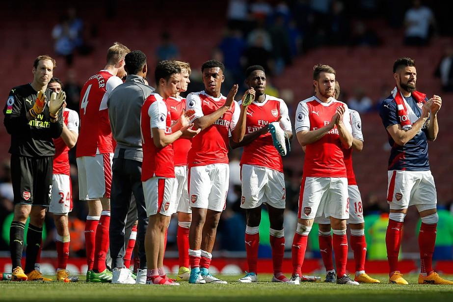 Malgré sa victoire contre Everton, Arsenal a terminé... (Photo Andrew Couldridge, REUTERS/Andrew Couldridge)