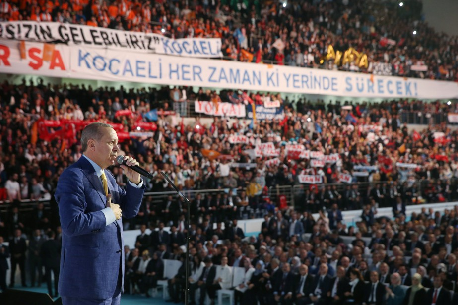 Le président turc Tayyip Erdogan.... (Photo REUTERS)