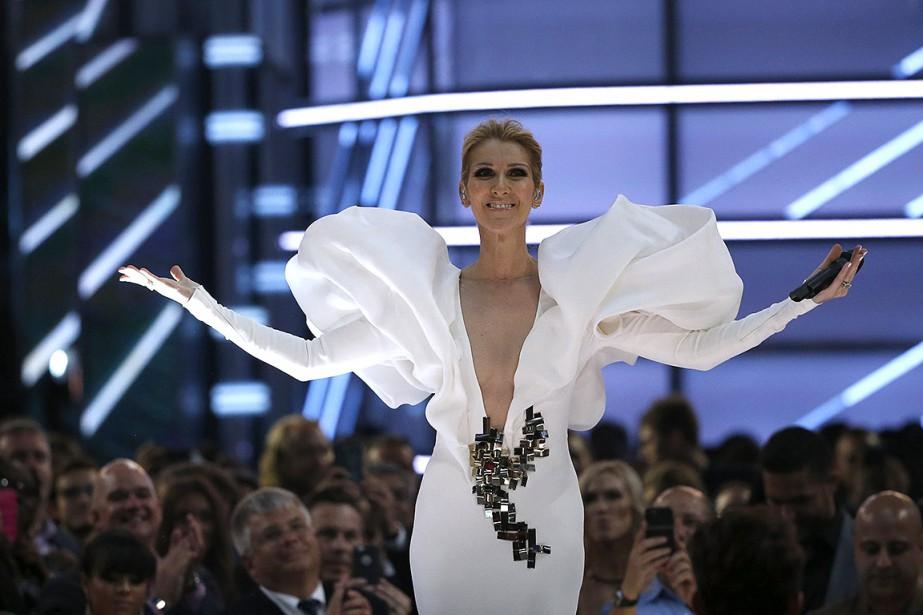 Céline Dion a chantéMy Heart Will Go Onpour... (Mario Anzuoni, REUTERS)