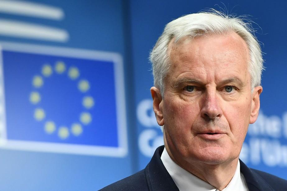 Michel Barnier... (Photo Emmanuel Dunand, Agence France-Presse)