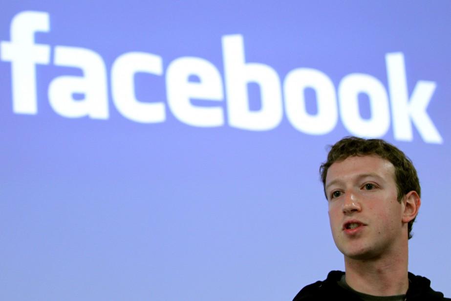 Mark Zuckerberg... (Photo Robert Galbraith, archives REUTERS)