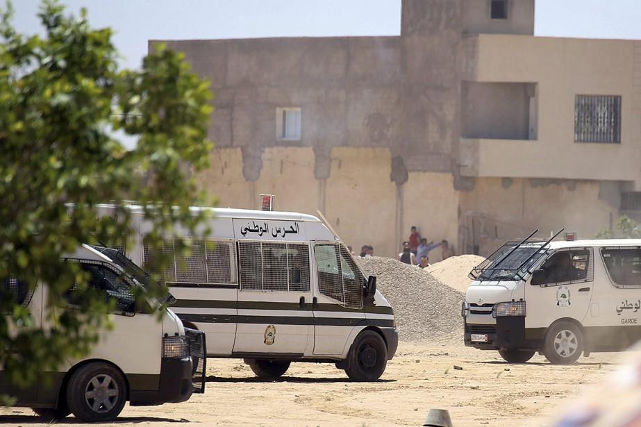 La tension est montée ce week-end à El-Kamour,... (Hatem Kefi, AP)