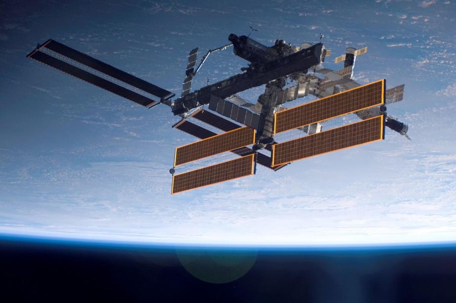 La Station spatiale internationale.... (ARCHIVES AFP)