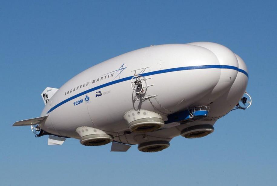 Les dirigeables Lockheed Martin remplaceront les camions pour... (Photo fournie par Lockheed Martin)