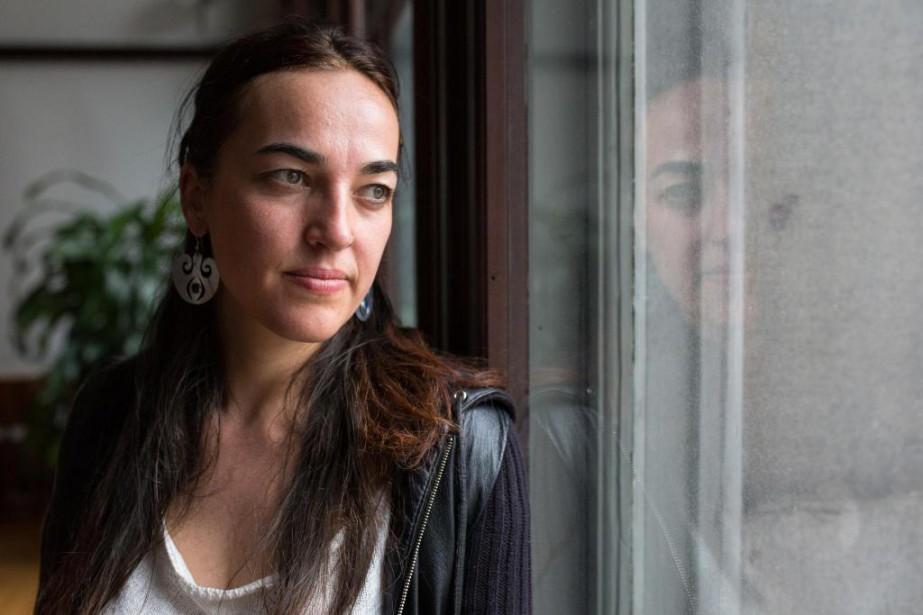 Émilie Monnet, artiste interdisciplinaire,directrice artistique des Productions Onishka... (PHOTO SIMON GIROUX, ARCHIVES LA PRESSE)