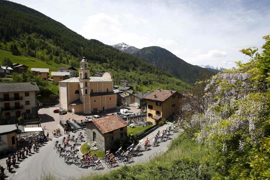 La 17e étape du Tour d'Italie traversait Aprica, mercredi, en route vers Canazei. | 24 mai 2017