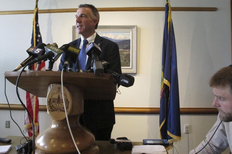 Le gouverneur du Vermont, Phil Scott... (PHOTO Lisa Rathke, AP)