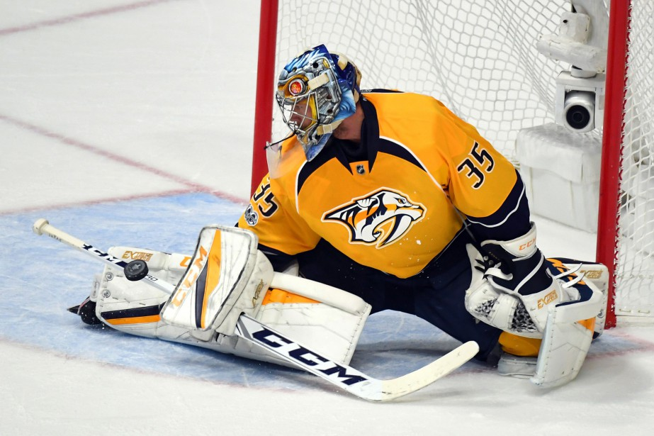 Pekka Rinne... (PHOTO REUTERS)