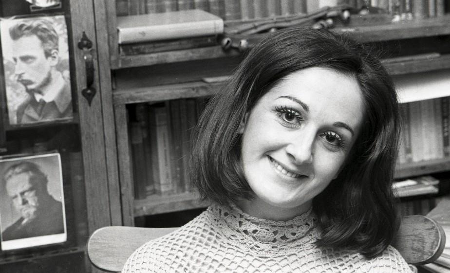 Nicole Leblanc, hiver 1970 (Archives la Presse,  Paul Henri Talbot)