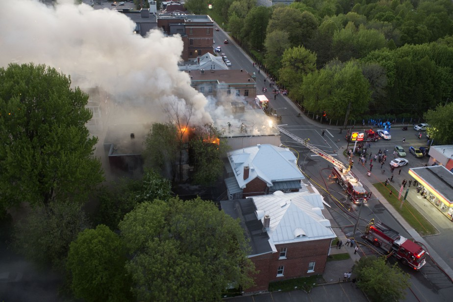 Un incendie s'est attaqué à la maison de transition du... | 2017-05-24 00:00:00.000