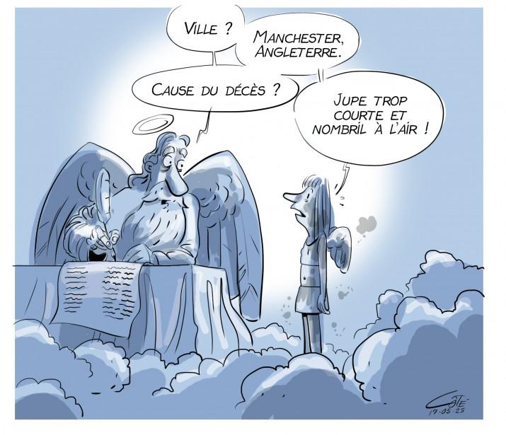 Caricature du 25 mai | 25 mai 2017