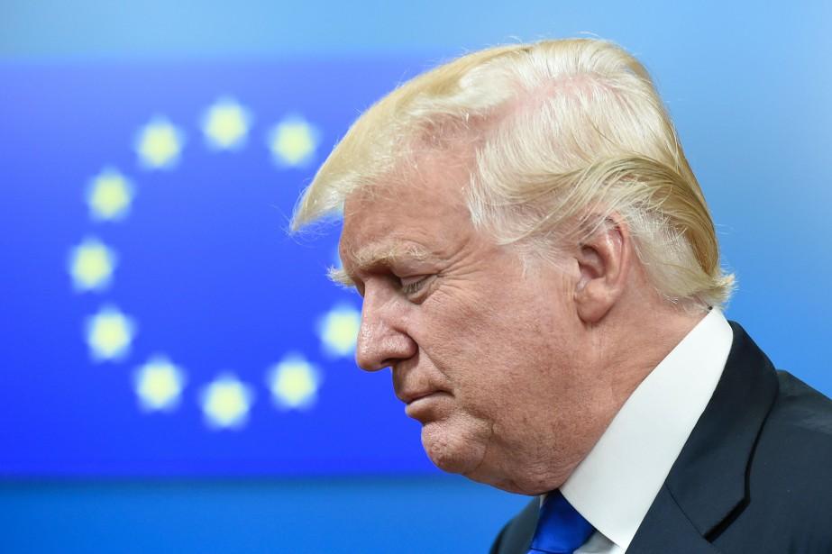 Donald Trump... (Photo AFP)